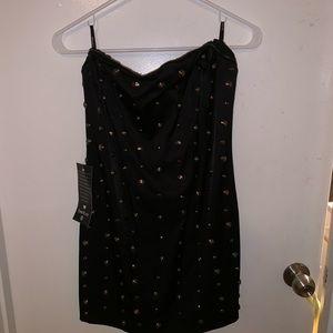 Bebé strapless dress